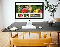 Whole Foods CSR Concept