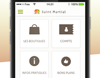 Saint Martial Shopping Center App