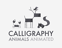 Calligraphy Animals Animated