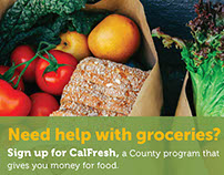 CalFresh Promotional Print Materials