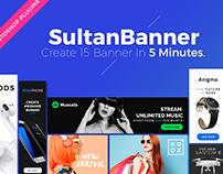 SultanBanner - Web Banner Generator