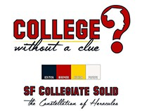 College Without A Clue Branding (My Blog)