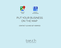 """Put Your Business on the Map"" Campaign"