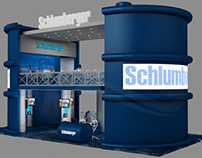 Schlumberger Booth