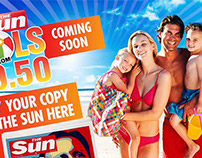 Sun £9.50 Hols Apple Motion Till Screen
