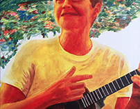 Ukulele Self Portrait