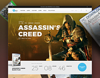 Ubisoft Web Design