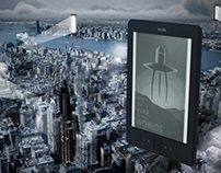 CONCEPT KINDLE ADVERTISING  CAMPAIN