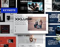 XKLUSIF Keynote Template