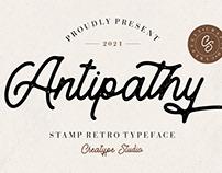 ANTIPATHY STAMP RETRO - FREE FONT