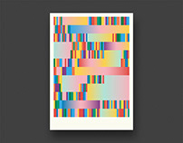 Geometric Colour Posters
