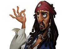 Fanart - Pirate of The Caribbean
