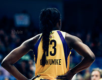 WNBA SPARKS @ WINGS