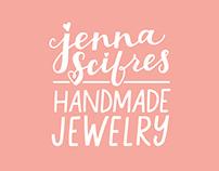 Jenna Scifres Handmade Jewelry Branding