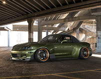 Mazda MX-5 Widebody CGI