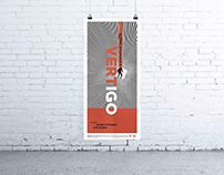 VERTIGO Movie Poster Design
