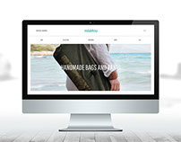 Web Design - Misirlou Handmade Bags and Pants