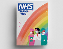 """""""BIG THANK YOU"""" TO NHS Posters - FREEBIE"""