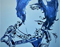 graphic sketch