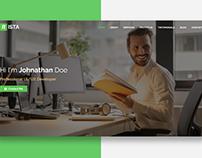 Nista - Creative Personal Website