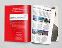 Asiana Airlines - Graphic Design