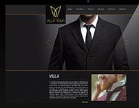 JOB: Site Grenciável, Cliente Villa Roma