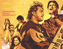 Arjun Janya Concert | Event Branding