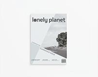 Lonely Planet Magazine Rebrand
