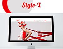 Style-X Fashion Web PSD Templete