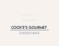 LOGO DESIGN | COOK'E'S GOURMET CHEESECAKES