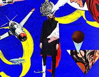 Collage Artwork 097-099