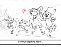 "Preschool - Netflix's ""Luna Petunia"" board sample"