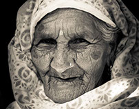 Elderly Lady of Pokhara, Nepal