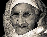 Elderly Lady of Pokhara, Nepal