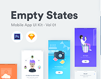 empty states - ui kit vol 1