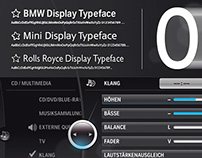 BMW Display Typeface