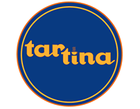 logo design for tartina, a wine bar cafe in manhattan