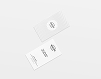 Business Card - MINIMAL DESIGN.
