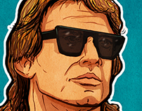 Roddy Piper - They Live by Hal Hefner