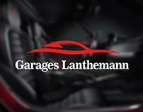 Garages Lanthemann   Logo design