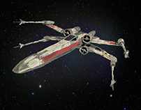 X-Wing - PSD Art
