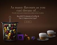 Nespresso - Give Wonder - Micro site