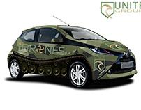 Unite Group - iDrones Vehicle Wrap