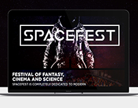 SPACEFEST - Web Design