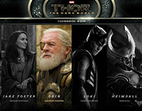THOR: The Dark World — WEBDESIGN