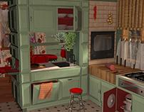 '50 style kitchen