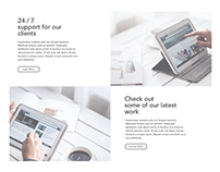 Fluex PSD Template Web Design