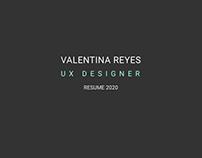 UX Designer - Resume 2020
