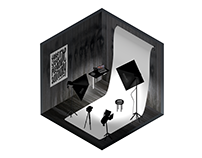 photo studio - isometric