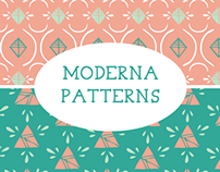 Moderna Pattern Collection